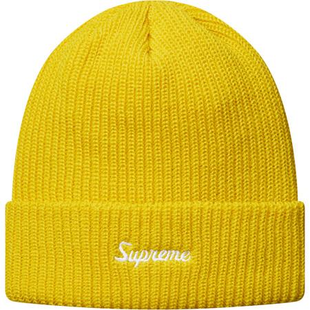 Loose Gauge Beanie (Yellow)