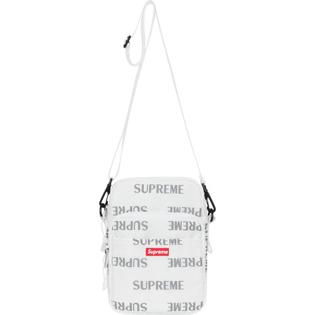 3M® Reflective Repeat Shoulder Bag (White)