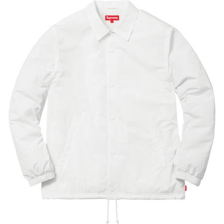 Old English Coaches Jacket (White)