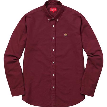 Oxford Shirt (Burgundy)