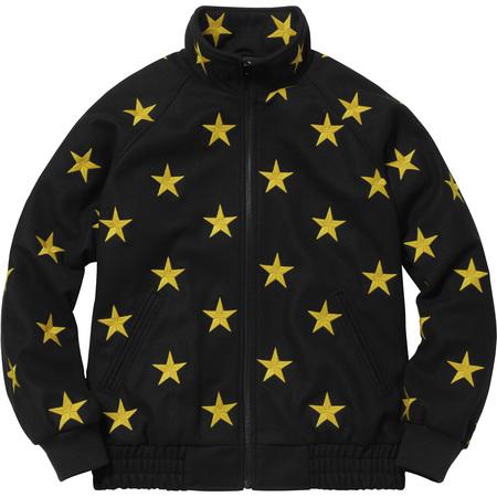 Stars Zip Stadium Jacket (Black)