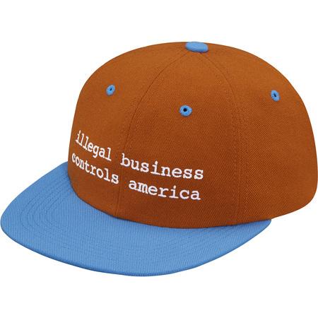 2-Tone Illegal Business 6-Panel (Dark Orange)