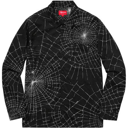 Spider Web Shirt (Black)