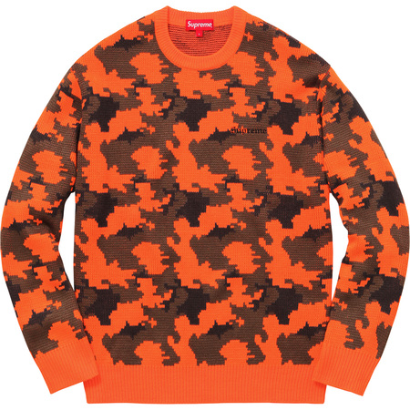 Camo Sweater (Orange Camo)