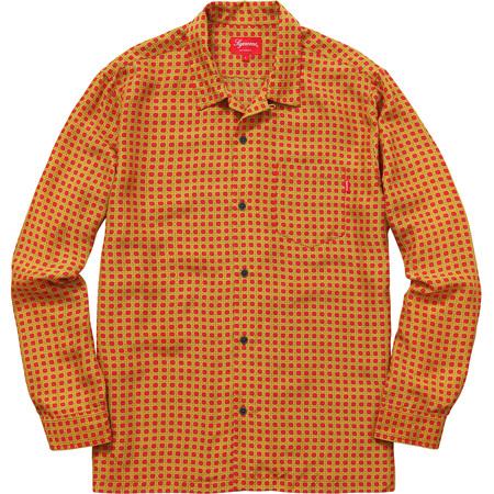 Cane Silk Shirt (Red)