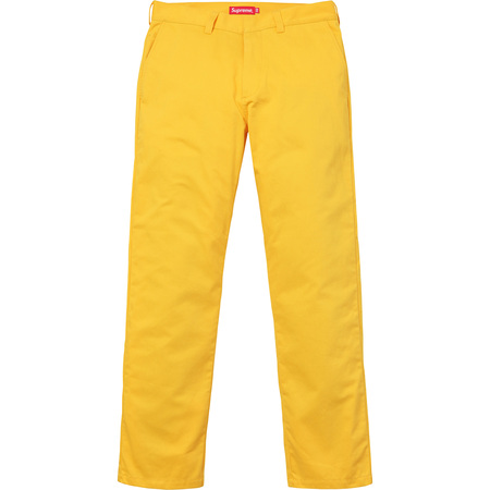 Work Pant (Yellow)
