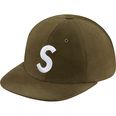 Suede S Logo 6-Panel (Olive)