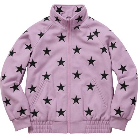 Stars Zip Stadium Jacket (Lavender)