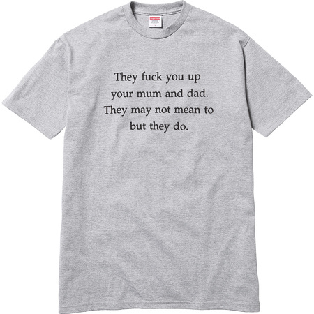 They Fuck You Up Tee (Heather Grey)