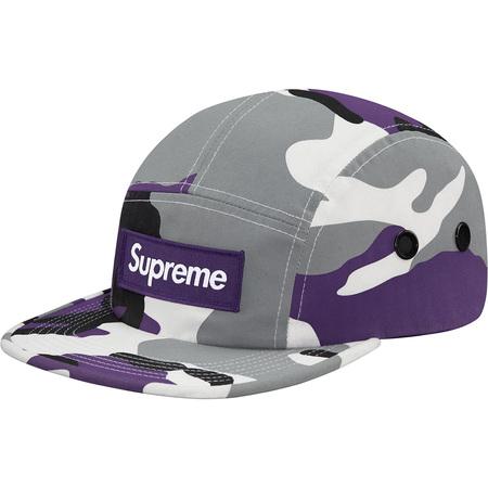 Camo Camp Cap (Purple Camo)