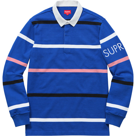 Striped Rugby (Royal)