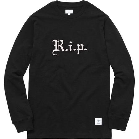 R.i.p. L/S Tee (Black)