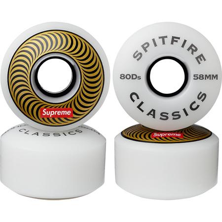 Supreme®/Spitfire® Wheels (Set of 4) (Gold)