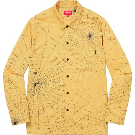 Spider Web Shirt (Yellow)