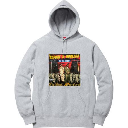 The War Report Hooded Sweatshirt (Heather Grey)