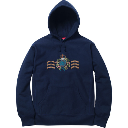 Crest Hooded Sweatshirt (Navy)