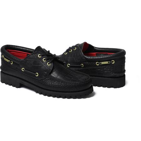 Supreme®/Timberland® 3-Eye Classic Lug Shoe (Black)