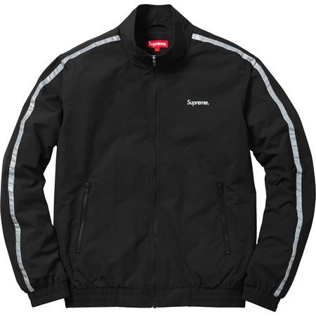 3M® Reflective Stripe Track Jacket (Black)