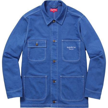 Denim Chore Coat (Royal)