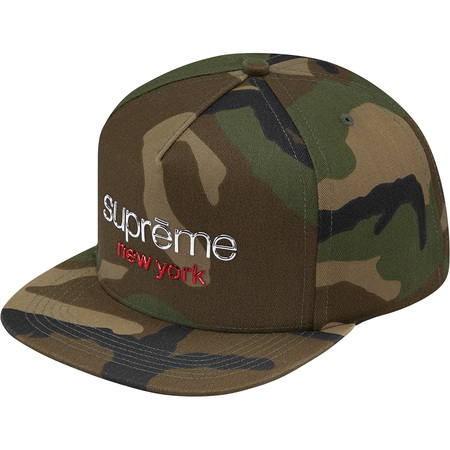 Chrome Classic Logo 5-Panel (Woodland Camo)