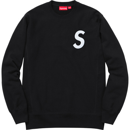 S Logo Crewneck (Black)