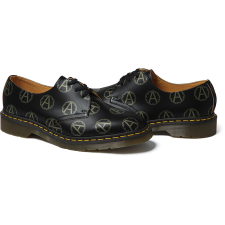Supreme®/UNDERCOVER/Dr. Martens® Anarchy 3-Eye Shoe (Black)