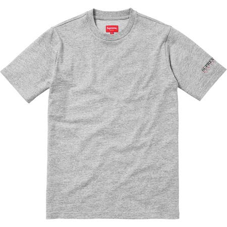 Sleeve Logo Tee (Heather Grey)
