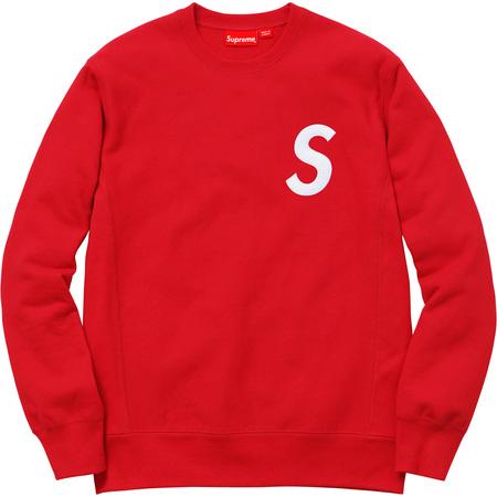S Logo Crewneck (Red)