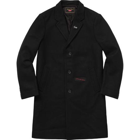 Supreme®/UNDERCOVER Wool Overcoat (Black)
