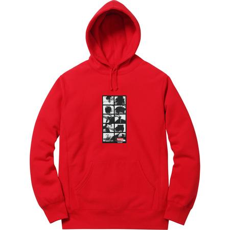 Sumo Hooded Sweatshirt (Red)