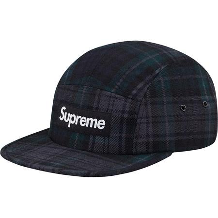 Plaid Camp Cap (Black)