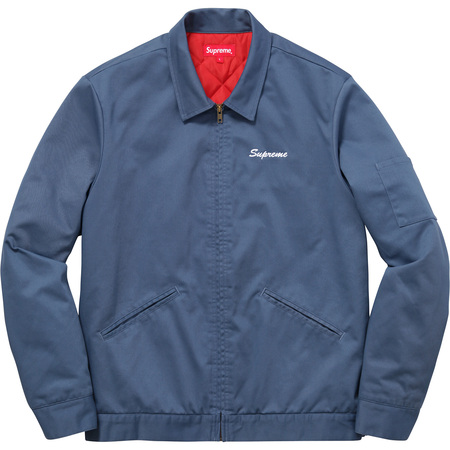 Supreme®/Playboy© Work Jacket (Dusty Blue)
