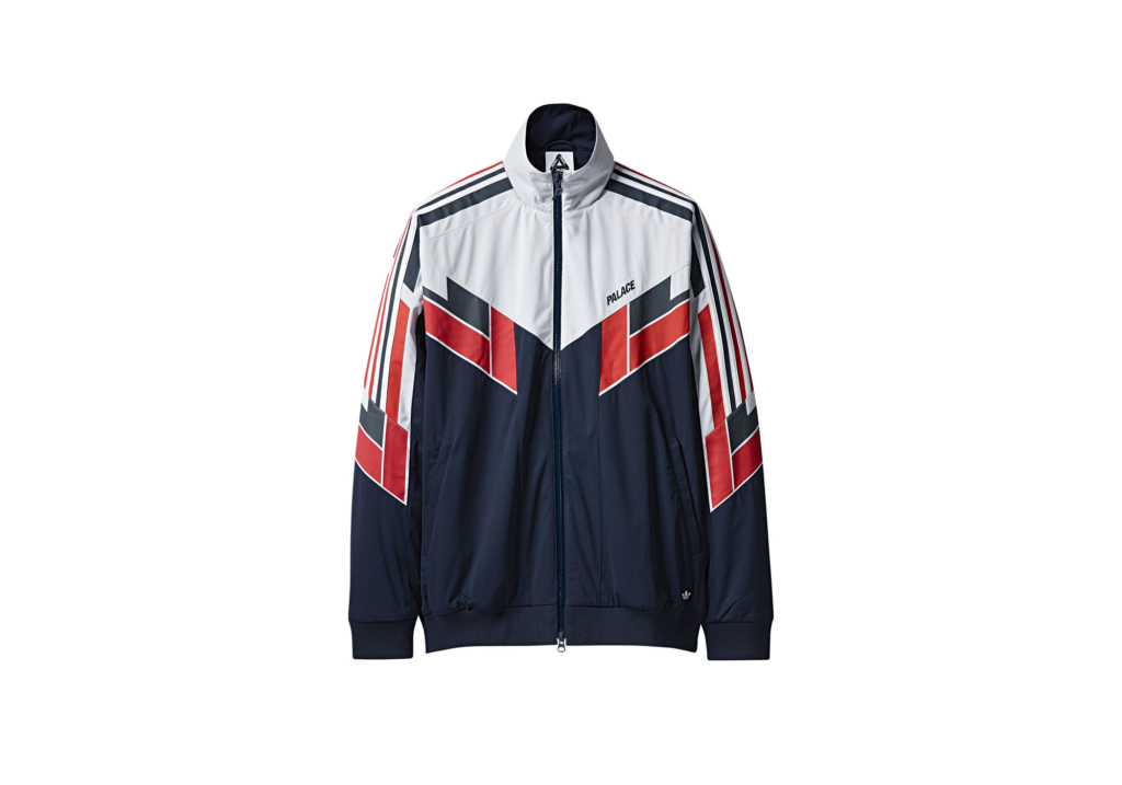 ADIDAS PALACE SHELL TRACK TOP NIGHT INDIGO / WHITE