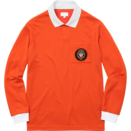 Sideline L/S Polo (Orange)