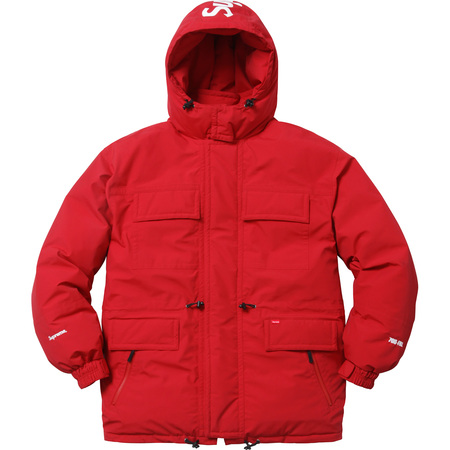 Downtown Down Parka (Red)