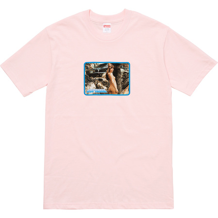 Larry Clark Girl Tee (Pale Pink)