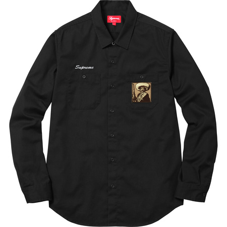 Zapata Work Shirt (Black)