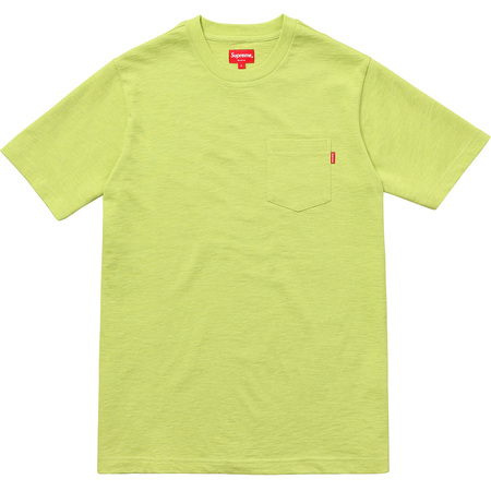 S/S Pocket Tee (Heather Bright Green)