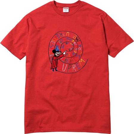 Joe Roberts Swirl Tee (Red)