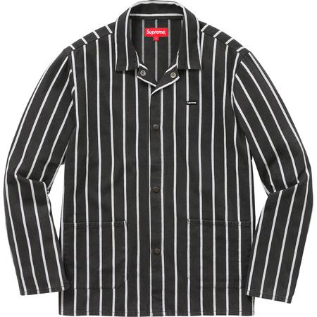 Shop Jacket (Black/White)