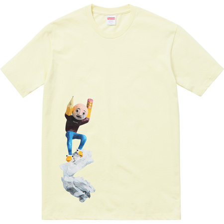 Mike Hill Regretter Tee (Pale Yellow)