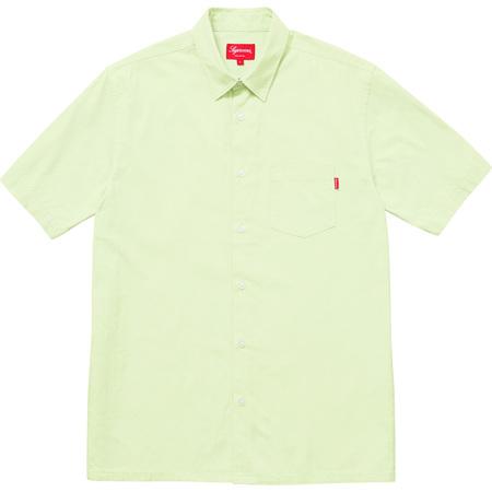 Light S/S Oxford Shirt (Light Green)