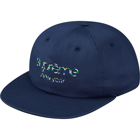 Multi Color Twill Classic Logo 6-Panel (Navy)