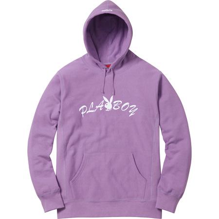 Supreme®/Playboy© Hooded Sweatshirt (Dusty Lavender)