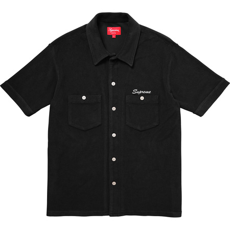 Terry S/S Shirt (Black)