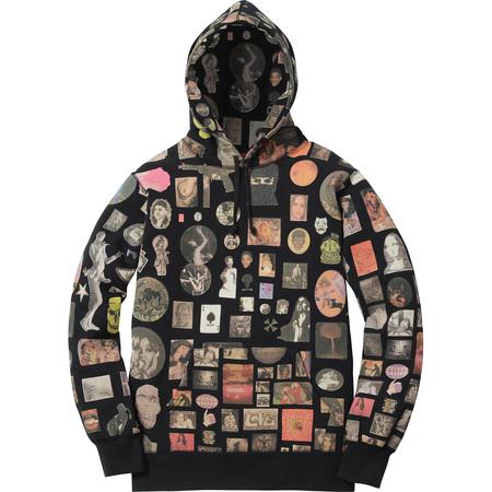 Thrills Hooded Sweatshirt (Black)