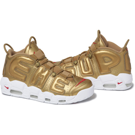 Supreme®/Nike Air More Uptempo (Gold)