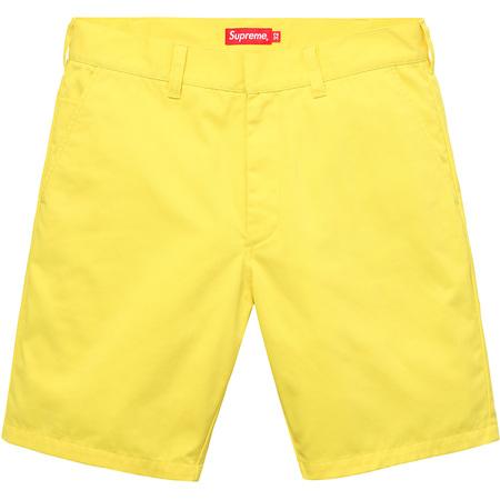 Work Short (Light Yellow)