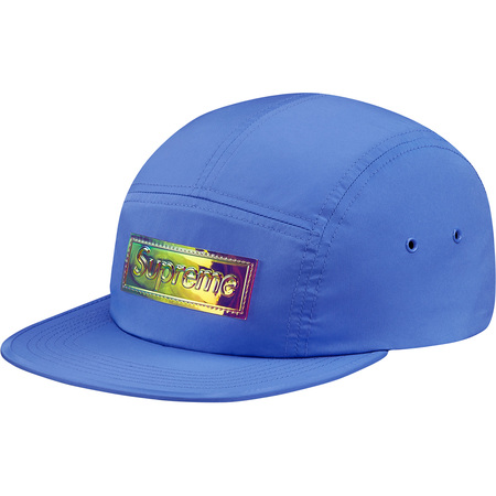 Iridescent Logo Camp Cap (Light Blue)