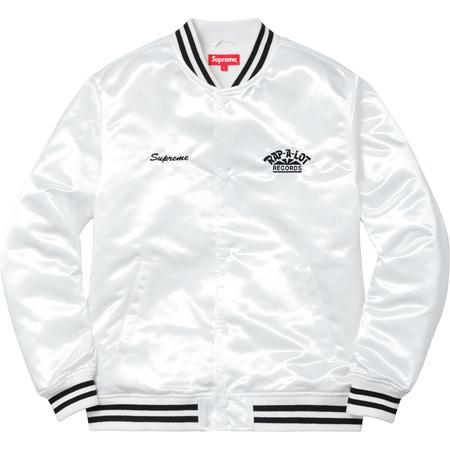 Supreme®/Rap-A-Lot Records Satin Club Jacket (White)